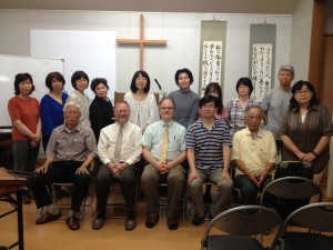 Seminar participants in Okayama.