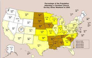 Utah on map